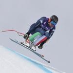 Henri Battilani stellt die Skier in den Keller
