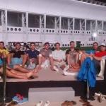 Equipe Tricolore im Golfstaat Katar im Training