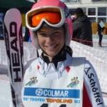 Carina Dengscherz vom Kitzbüheler Skiclub auch international erfolgreich
