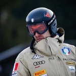 Davide Cazzaniga gewinnt die 2. Europacupabfahrt in Wengen