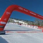 Auch bei den Ski Weltcup Rennen in Frankreich müssen die Fans draußen bleiben