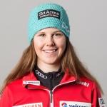 Die Junioren Alpine Kombinations-Weltmeisterin 2016 heißt Aline Danioth