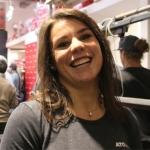 Nicol Delago sitzt schon wieder auf dem Heimtrainer