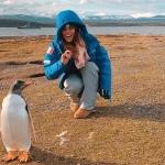 Nicol Delago und Co. haben Pinguine ins Herz geschlossen