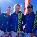 Lena Dürr gewinnt FIS Slalom auf der Diavolezza