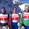 Schweizer Luca Aerni zum zweiten Mal auf der Diavolezza auf dem Podest