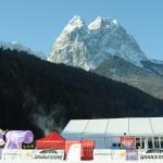 Ski Weltcup Rennen der Damen in Garmisch-Partenkirchen abgesagt