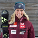 Lisa Hörnblad kann bei Sieg im EC-Super-G in Zauchensee jubeln