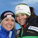 Corinne Suter gewinnt Europacup Super G Rennen in Crans Montana