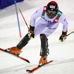 Simon Maurberger hat beim EC-Slalom in Val Cenis erneut die Nase vorn