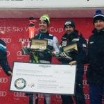 Mélanie und Loïc Meillard haben den «Longines Rising Ski Star Award» gewonnen.