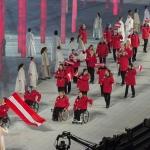 XI. Paralympische Winterspiele stimmungsvoll eröffnet