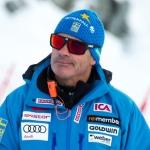 Schwedens Herren-Cheftrainer Heinzpeter Platter im Skiweltcup.TV-Interview