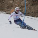David Ryding fährt Konkurrenz beim EC-Slalom in Pozza auf und davon