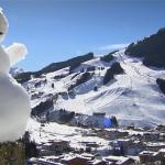 FIS Europacup: Abfahrt der Herren in Saalbach Hinterglemm