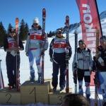 Nadja Kamer mit Doppelsieg  – Oerlikon-Fis- Rennen Super-G Damen Stoos 2012