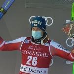 Otmar Striedinger sichert sich im Rahmen der östreichischen Meisterschaften die Super-G-Goldmedaille