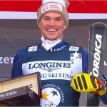 Nachwuchsstar Alex Vinatzer beendet den letzten Slalom des Winters in der Lenzerheide auf Rang vier