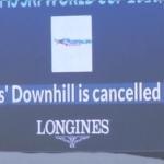Abgesagte Damenabfahrt in Cortina d'Ampezzo wird am Sonntag nachgeholt