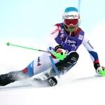 Eidgenosse Luca Aerni steht beim FIS-Slalom von Zinal ganz oben