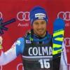 Luca Aerni freut sich über den ersten Podestplatz seiner Karriere