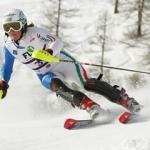 Lisa Magdalena Agerer gewinnt italienische Riesenslalom Junioren Meisterschaft in Courmayeur