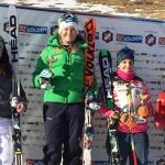 Lisa Magdalena Agerer strahlt bei FIS-Rennen in Sölden zweimal vom Podest