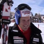 Daniel Albrecht Zeigefingerbruch im Training von Sölden