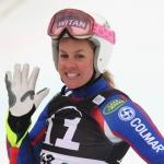Britin Chemmy Alcott trainiert mit den Norwegerinnen