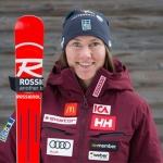 Estelle Alphand zieht sich bei Slalom in Killington Knöchelbruch zu