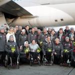 Willkommen daheim: Großer Empfang für das Paralympic Team Austria
