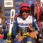 Elena Curtoni gewinnt sensationell die 2. Abfahrt in Bansko