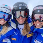 Federica Brignone & Co. fliegen dem Training in Ushuaia entgegen