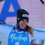Marta Bassino freut sich über bessere Trainingsbedingungen in Les Deux Alpes