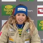 Halbzeitführung für Marta Bassino beim Riesentorlauf in Sölden