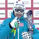 Romed Baumann liegt nach Kombiabfahrt in Chamonix in Führung