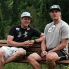 Das Duell: Manuel Feller vs. Romed Baumann beim Fisherman's Friend StrongmanRun