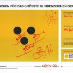 """Benni Raich und Kathrin Zettel unterstützen Kampagne """"Blindenzeichen"""""""