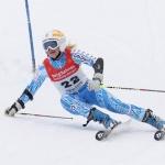 Schwedin Lisa Blomqvist wehrt bei Sieg im EC-Slalom von Hemsedal ÖSV-Angriff ab