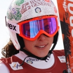 Italiens Riesentorläuferinnen in Moena im Einsatz