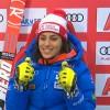 Federica Brignone führt das italienische Riesenslalom-Team der Damen an