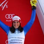 Federica Brignone will Gesamtweltcup nicht aus den Augen verlieren