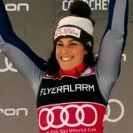 """Gesamtweltcupsiegerin Federica Brignone: """"Ich hoffe, dass ich in dieser schweren Zeit, ein Lächeln in unser Land bringen konnte."""""""
