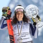 La Thuile feiert Gesamtweltcupsiegerin Federica Brignone