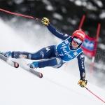 Federica Brignone packt in Cervinia auch die langen Skier aus