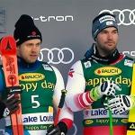 Swiss-Ski News: Mauro Caviezel beim Super-G in Lake Louise auf Rang drei