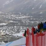 Für die Ski Weltcup Herren Rennen in Chamonix ist alles angerichtet