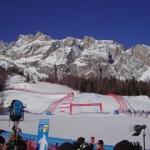 Neuschnee in Cortina d'Ampezzo: Erstes Abfahrtstraining gestrichen