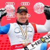 Didier Cuche mit Bestzeit beim Abfahrtstraining in Schladming