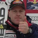 Didier Cuche zum fünften Mal Sieger auf der Streif